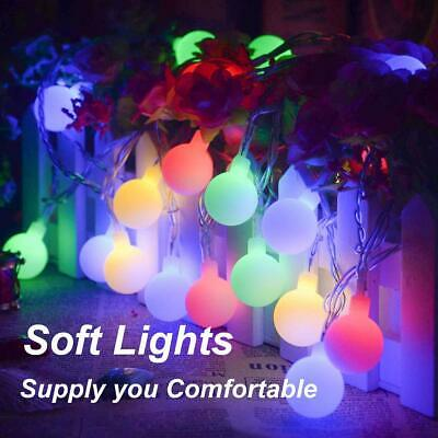 100-200LED Berry Ball Xmas Bulb Fairy String Lights Electric Plug-in Party Lamp • 10.93£