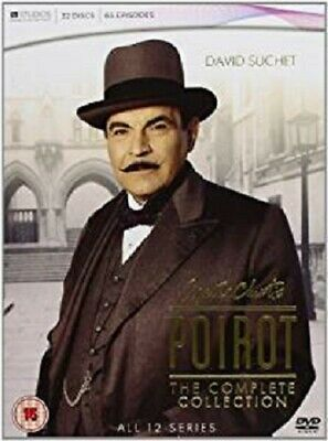£34.99 • Buy Agatha Christie's Poirot - Complete Collection   Series 1-12         See Below