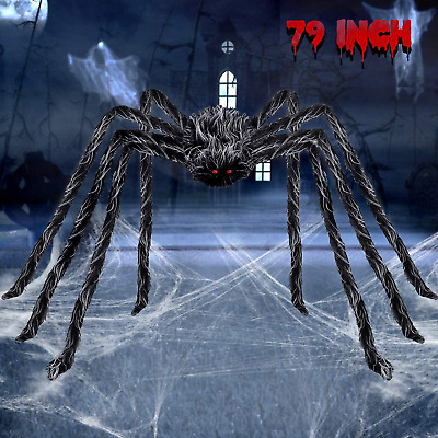 $ CDN14.99 • Buy Belant 6.6Ft Giant Hairy Spider Halloween Decorations Scary Outdoor Yard Decor,