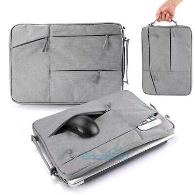$14.75 • Buy For Macbook Air/Pro/Retina 13.3  Inch Laptop Sleeve Carry Bag Pouch Case Grey