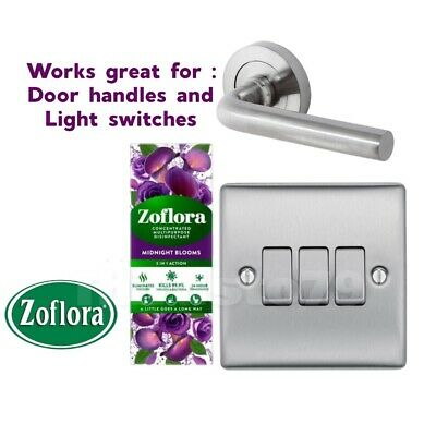 Midnight Blooms - Zoflora Concentrated Disinfectant 3 In 1-  250ml X1 • 6.50£