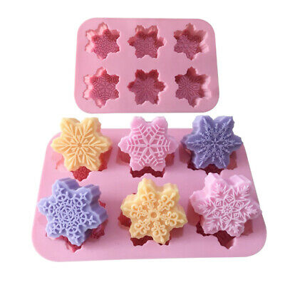 Silicone Flower Soap Mould Cake Cookies Candle Mold Craft Baking Tray Mold • 5.99£
