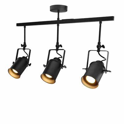 Vintage Pendant Light Shade Industrial Retro Ceiling Lights Spotlight Adjustable • 30.98£
