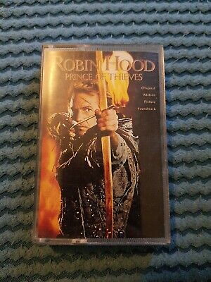 Robin Hood Prince Of Thieves Soundtrack Tape Cassette 1991 • 6£