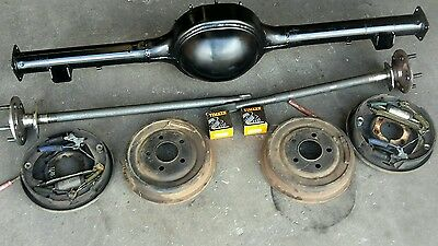 AU1300 • Buy Ford Mustang 65-66  9 Inch 9  Drum Brake Diff Housing  Axles And Brakes
