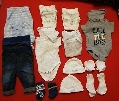 Twin Baby Boys Clothes 0-3 Months. 40 Items. Used • 25£