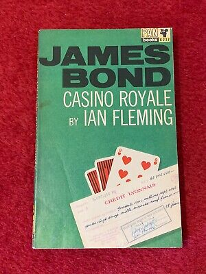 Rare CASINO ROYALE Ian Fleming 1964 GOOD 16th Printing James Bond X350 • 5£