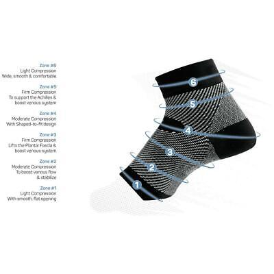 AU38.50 • Buy OS1st FS6 Performance Foot Sleeves | For Plantar Fasciitis/Achilles Tendonitis