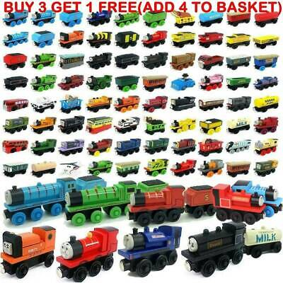 The Tank Engine Tender Set Wooden Magnetic Railway Train Truck Toy Car Kids Gift • 2.79£