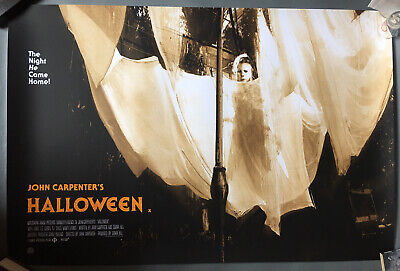 Halloween 1978 Mondo Art Print Quad Poster Variant By Jock Limited To 150 Mint • 999.99£