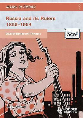 OCR A Historical Themes: Russia And Its Rulers 1855-1964 By Andrew Holland... • 4.99£
