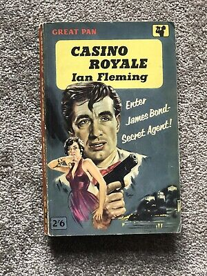 Casino Royale James Bond, Paperback By  Ian Fleming 7th Print 1961 GC • 4.99£