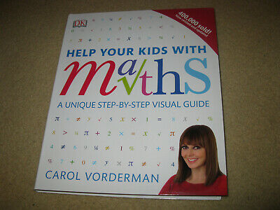 Help Your Kids With Maths Book Carol Vorderman School Educational • 7.99£