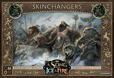 A Song Of Ice And Fire Miniatures Game Free Folk Skinchangers • 25£
