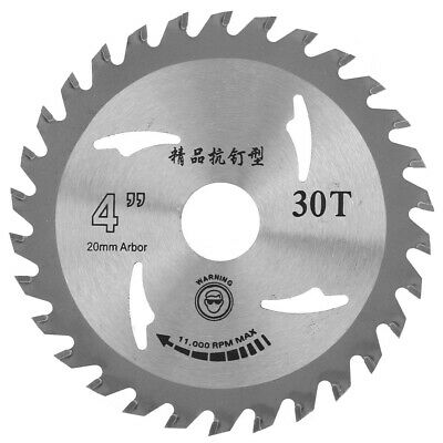 £4.60 • Buy Angle Grinder Saw Disc 110mm 30T Tungsten Carbide Circular Saw Blade Wood Cutter