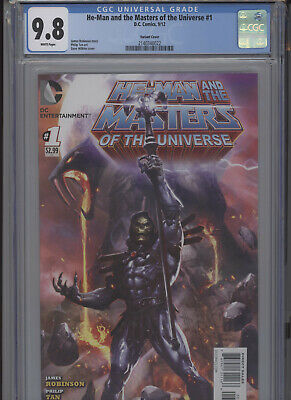 $1799.99 • Buy He Man And The Masters Of The Universe #1 Mt 9.8 Cgc Variant Cover Tan Art Wilki