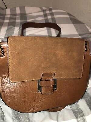 Tan Leather Satchel Style Bag, From M&S Autograph Collection  • 9.99£