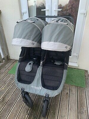 Baby Jogger City Mini GT Double Stroller - Steel Grey • 240£