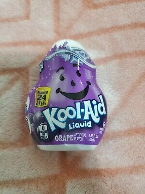 5 Bottles.. Kool-Aid Grape.  Flavor Enhancer Liquid Drink Mix  • 11.50£