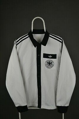 Adidas Germany Tt DFB Jacket Vintage Beckenbauer Track Top World Cup 1974 Sz S • 69.99£