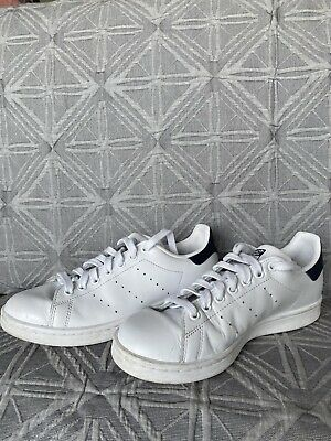 AU42 • Buy Adidas Stan Smith Sneakers White/Navy - Size 6 (Womens), Fits Size 7-8 RRP $130