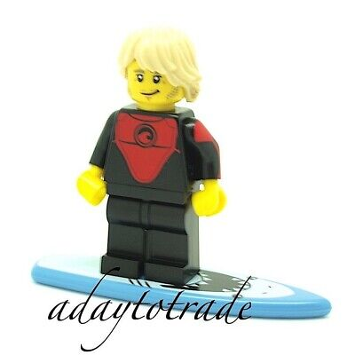 LEGO Collectable Mini Figure Series 17 - Professional Surfer 71018-1 COL286 R219 • 4.75£