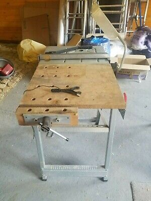 Wolfcraft Pioneer III Portable Folding Saw Table And Routing Table. • 55£