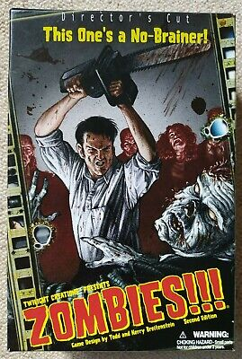 Zombies!!! Director's Cut. Board Game Opened But Unused.  • 14.99£