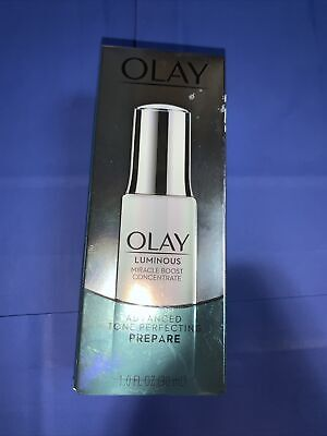 AU22.09 • Buy OLAY Luminous Miracle Boost Concentrate Advanced Tone Perfecting Prepare 1oz