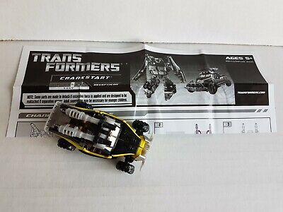 Transformers Hunt For Decepticons Scout Class Decepticon Crankstart Hasbro • 5.99£