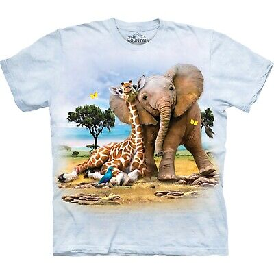 The Mountain Unisex Child Best Pals Zoo T Shirt • 8.99£