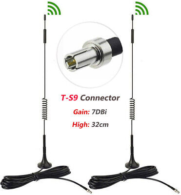AU12.90 • Buy For HUAWEI B818 B818-263 4G Router TS9 ANTENNA 7dBi 4G LTE External Antenna 2pcs