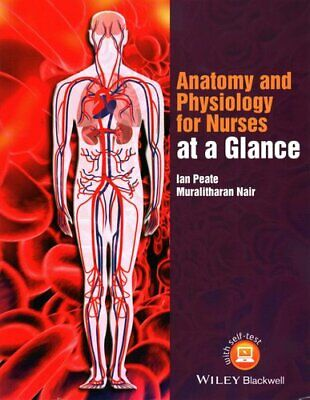 Anatomy And Physiology For Nurses At A Glance By Ian Peate 9781118746318 • 19.62£