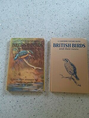 Vintage Ladybird Book:  British Birds And Their Nests With Dust Jacket 536 • 9.99£