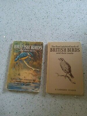 Vintage Ladybird Book: British Birds And Their Nests With Dust Jacket • 9.99£