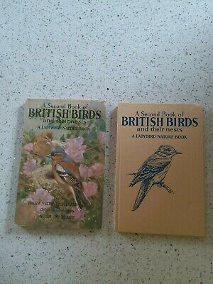 Vintage Ladybird Book: 2nd Book British Birds And Their Nests With Dust Jacket • 9.99£
