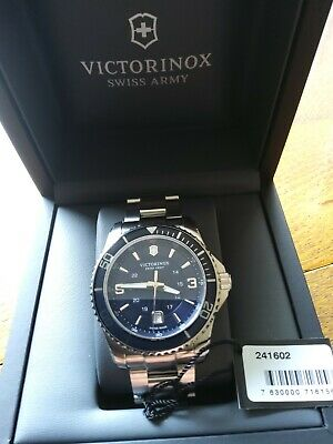 Victrinox Watch - Maverick 241602. Blue Sunray Dial With Date At 6 O'clock • 320£