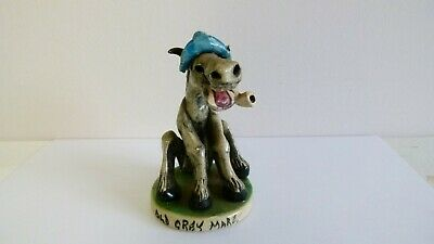 Will Young Studio Pottery, Widecombe Devon - Old Grey Mare Figurine • 21£