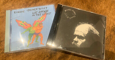 2 X Bonnie Prince Billy CD Albums 'Lie Down In The Light' & 'Beware' • 5£