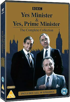Yes Minister And Yes Prime Minister - Complete Collection [DVD] *NEW* • 18.42£