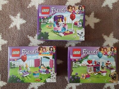 NEW Lego Friends 41112 41113 41114 - Small Sets - Retired Mini Collectable • 27.50£