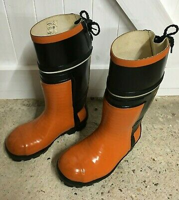 Stihl Chainsaw Wellington Boots Size 5 Very Little Use • 20£