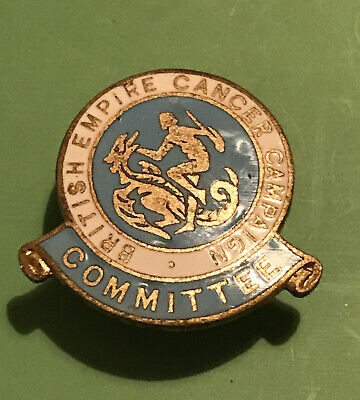 Vintage British Empire Cancer Campaign Committee Badge • 2.99£