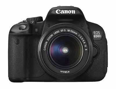 £360 • Buy Canon EOS 650D Rebel / T4i With Canon EF-S 18-55mm IS II Kit