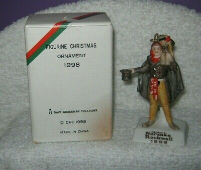 $ CDN7.89 • Buy Norman Rockwell - Figurine Christmas Ornament - Dickens Tiny Tim - 1998