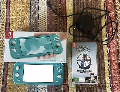 AU202.50 • Buy Nintendo Switch Lite 32GB Handheld Console - Turquoise (HDHSBAZAA)