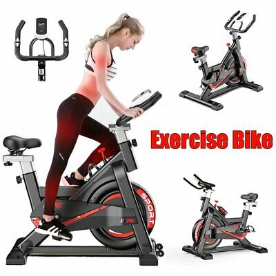 Home Spin Exercise Sport Spinning Bike Fitness Cardio Indoor Gym - FAST SHIPPING • 164.99£