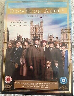 Downton Abbey: Series 5 (DVD, 2014, 3-Disc Set) Brand New • 7£