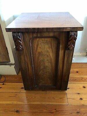 Victorian Mahogany Cupboard With Draw • 49.99£
