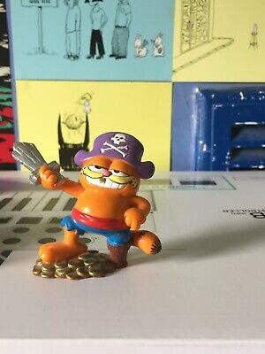 Vintage Garfield 1978 1981 Pirate Figure BULLY WEST GERMANY • 9.50£